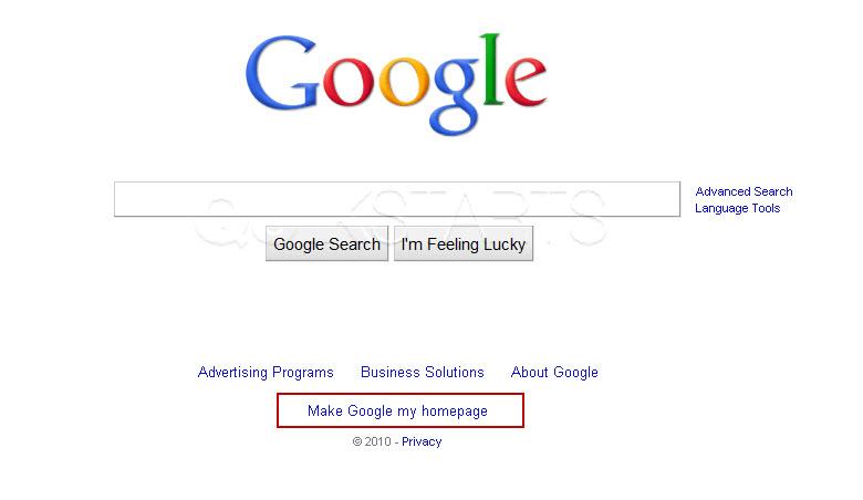 Make google my homepage windows 7 click for details make google your