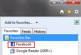 Add to favorites button ie9 download